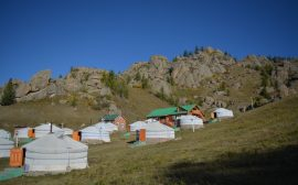 Mongolië, Terelj National Park, Backpackjunkies