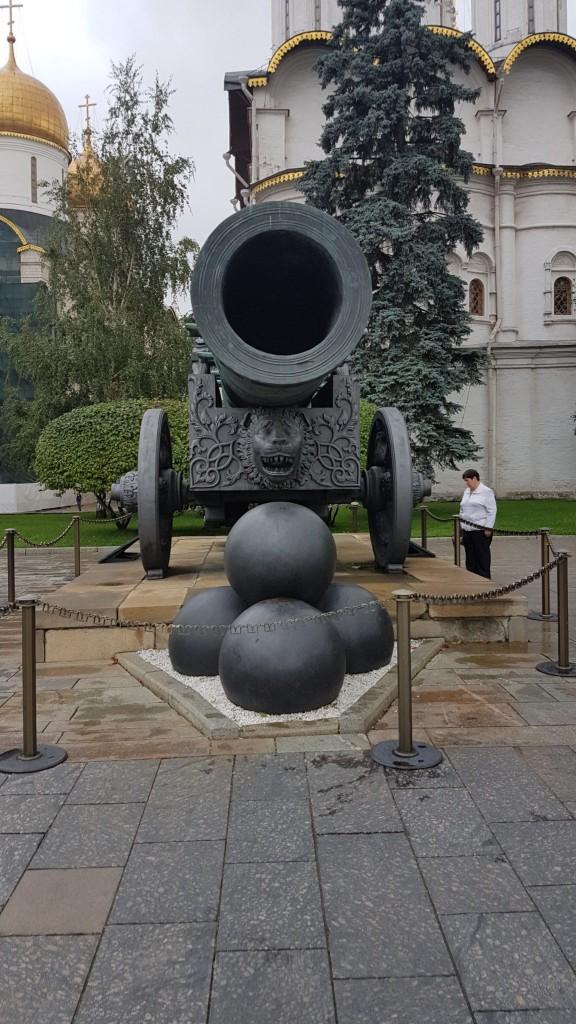 Moskou, Kremlin, Tsaar kanon, Backpackjunkies