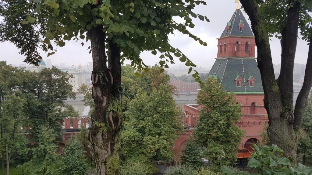 Moskou, Uitzicht vanaf het Kremlin, Backpackjunkies