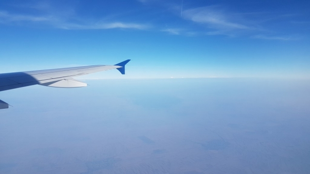 Moskou, vliegtuig, Backpackjunkies