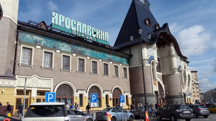 Moskou, Transmongolië Express, Backpackjunkies