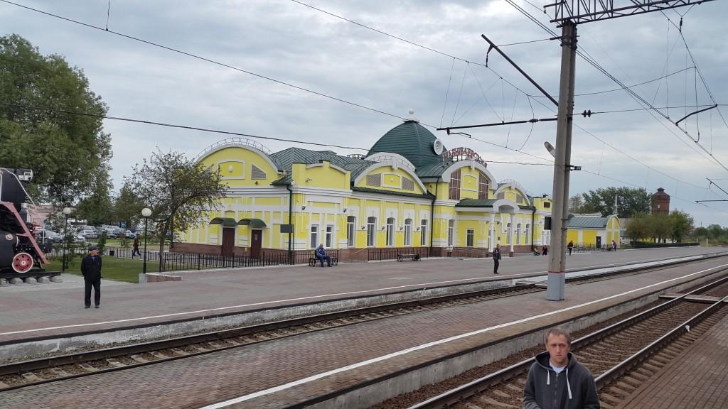Transmongolië Express, Treinstations, Backpackjunkies
