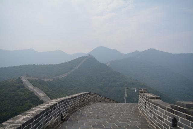 Goodbye China, Beijing, Chinese Muur