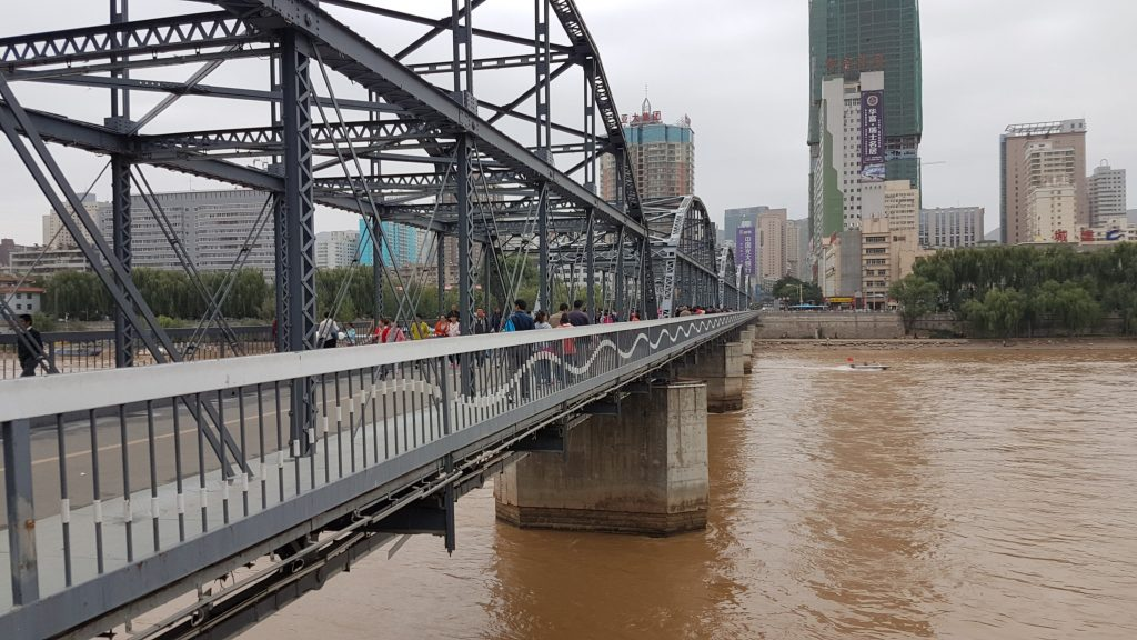 Goodbye China, Lanzhou, Bridge
