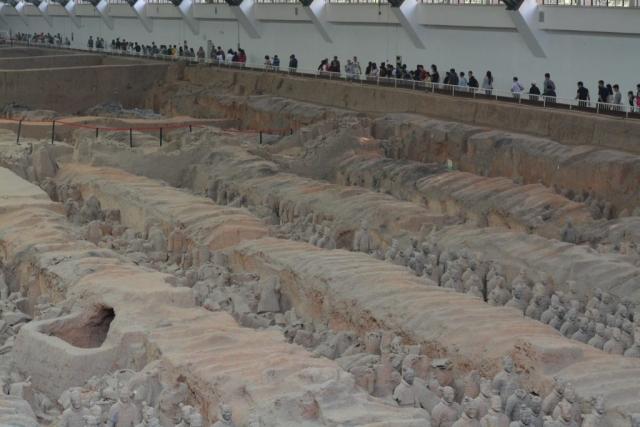 Goodbye China, Xi'an, Terracotta Warriors