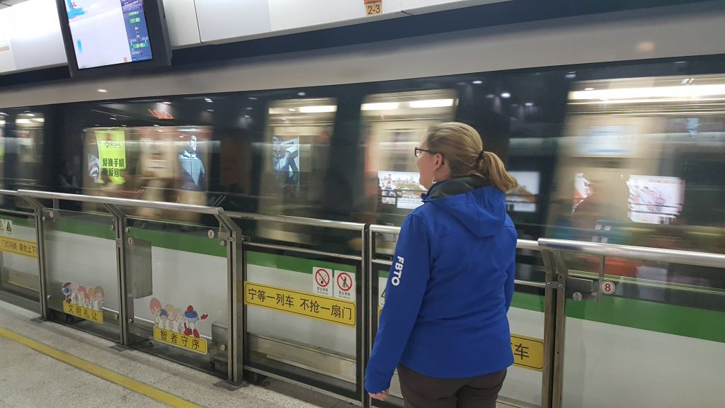Goodbye China, Shanghai, Subway