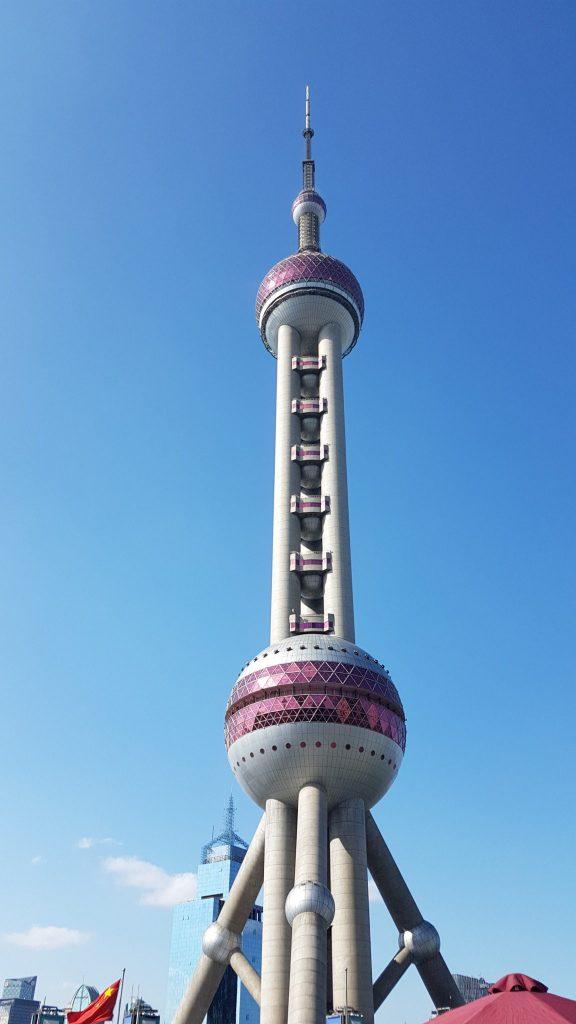 Goodbye China, Shanghai, TV Tower