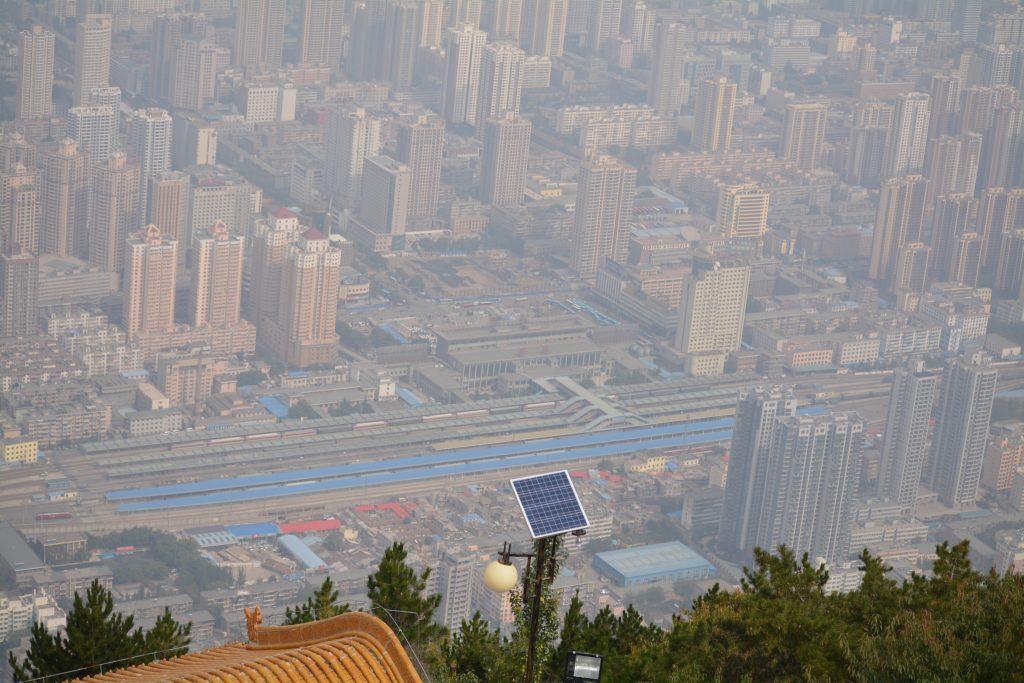 Lanzhou, Kabelbaan, Uitzicht, Backpackjunkies