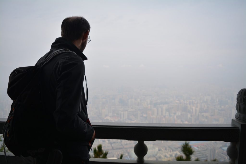 Lanzhou, Kabelbaan, Uitzicht, Kenji, Backpackjunkies