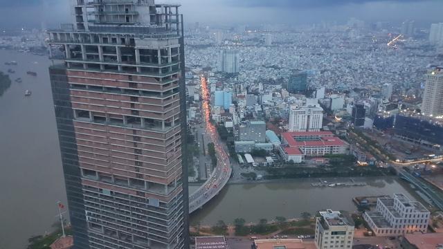 HCMC, Bitexco Financial Tower, Backpackjunkies