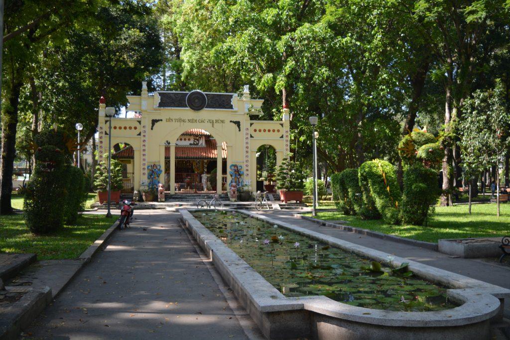 HCMC, Tao Dan Park, Backpackjunkies