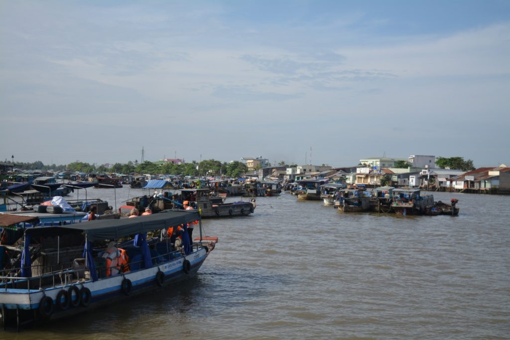 Mekong Delta, Cai Rang, Floating Market, Backpackjunkies