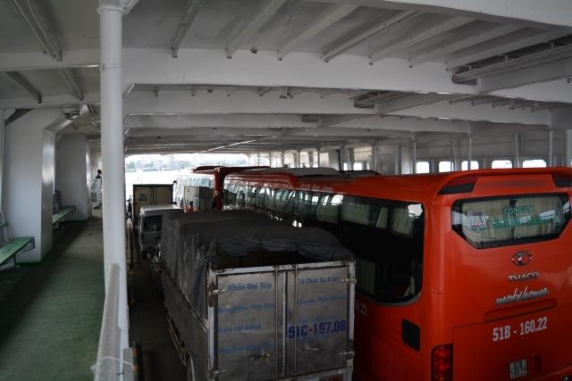 Mekong Delta, ferry, Backpackjunkies