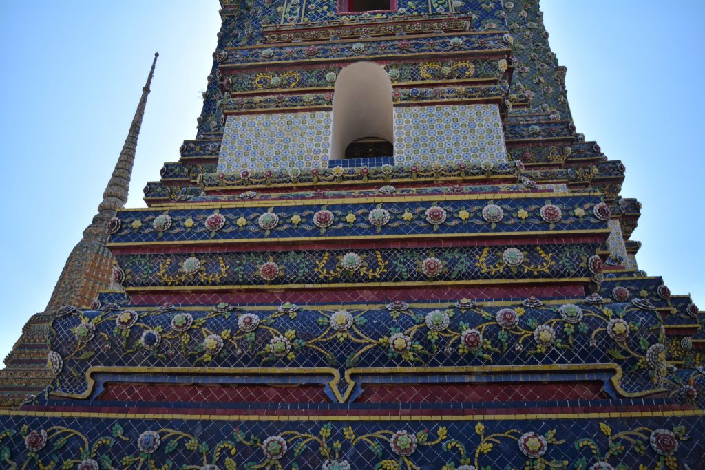 Bangkok, Wat Pho, Pagoda, Backpackjunkies