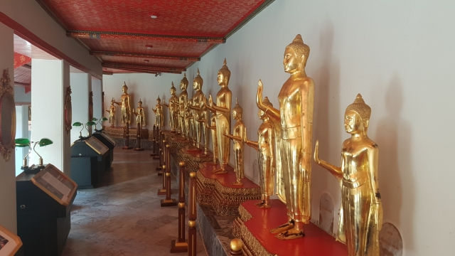 Bangkok, Wat Pho, Boeddha, Backpackjunkies