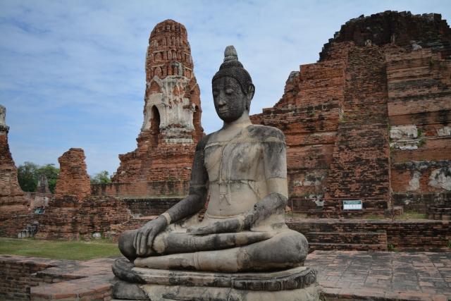 Ayutthaya, Wat Mahathat, Backpackjunkies