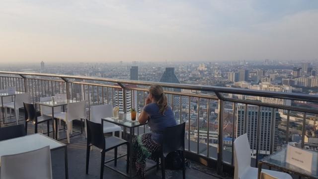 Bangkok, Cloud47 Rooftop Bar, Backpackjunkies