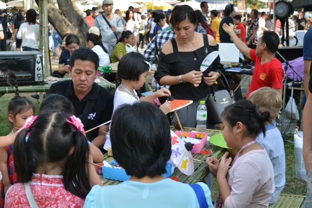 Bangkok, Lumpini Park, Chinees nieuwjaar, Backpackjunkies