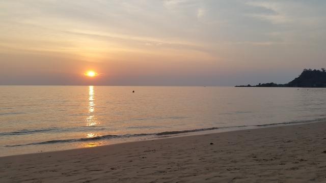 Koh Chang, zonsondergang, Backpackjunkies