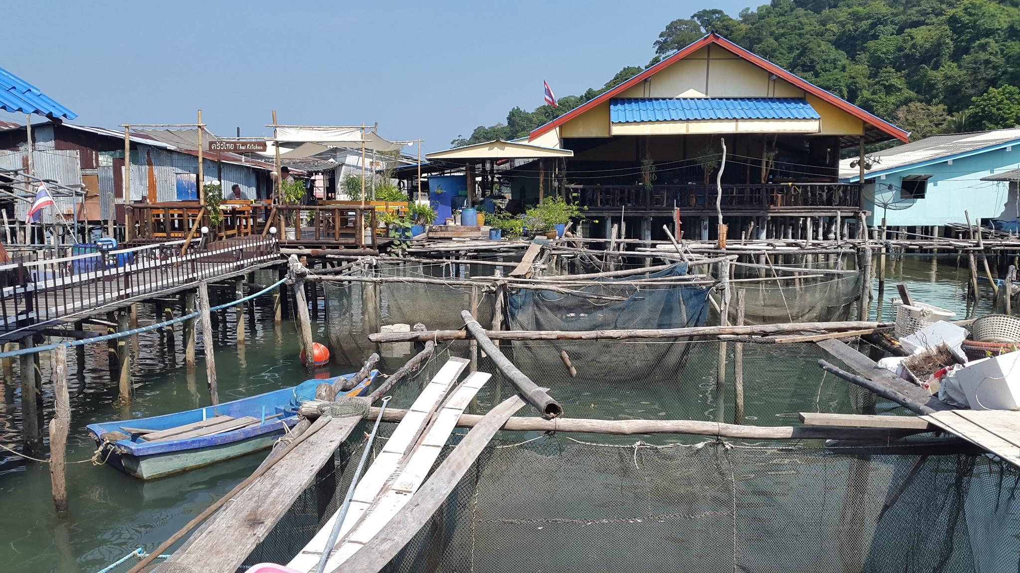 Koh Kood, Ban Ao Yai, vissersdorp, Backpackjunkies