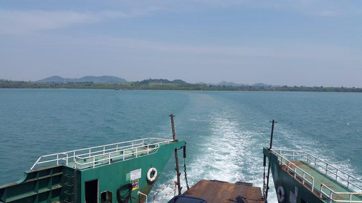 Trat, Koh Chang, Ferry, Backpackjunkies