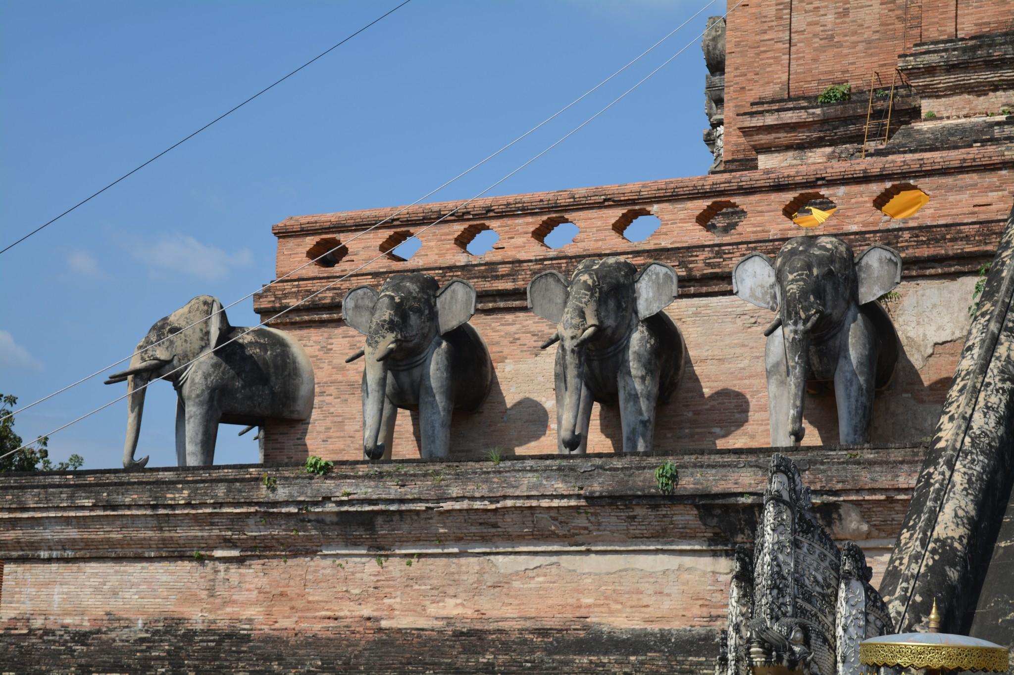 Chiang Mai - Wat Chedi Luang 006 - BackPackJunkies