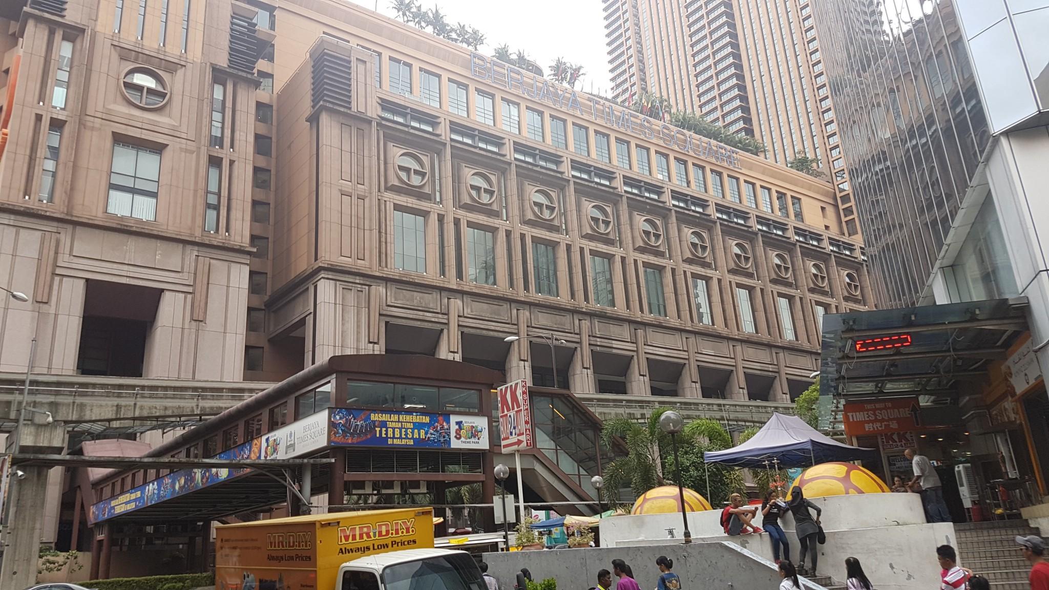 Kuala Lumpur, Berjaya Times Square, Backpackjunkies