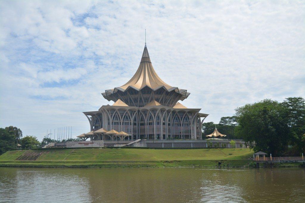 Kuching, Sarawak State Assembly, Backpackjunkies