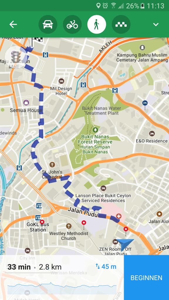 Navigeren in het buitenland- MapsWithMe003 - Backpackjunkies