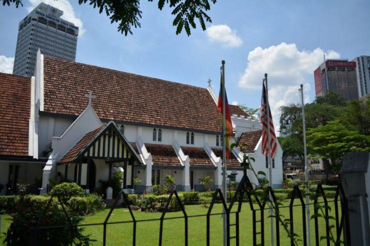 Kuala Lumpur, Cathedral Saint Mary, Backpackjunkies