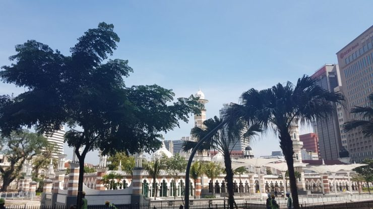 Kuala Lumpur, Masjid Jamek, Backpackjunkies