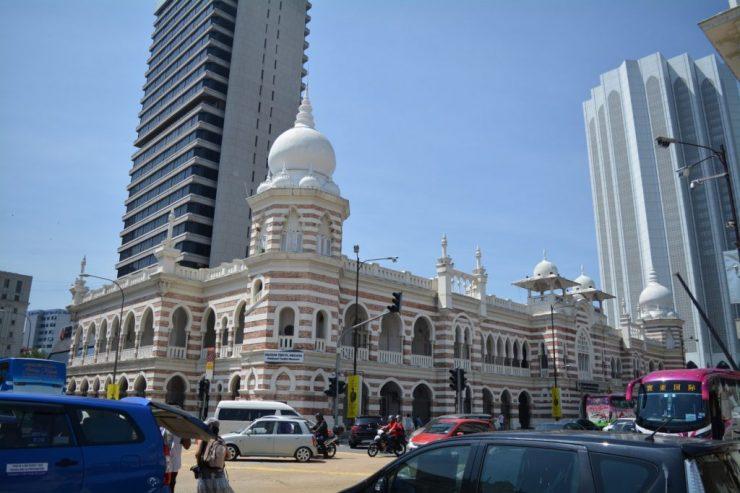 Kuala Lumpur, National Textile Museum, Backpackjunkies