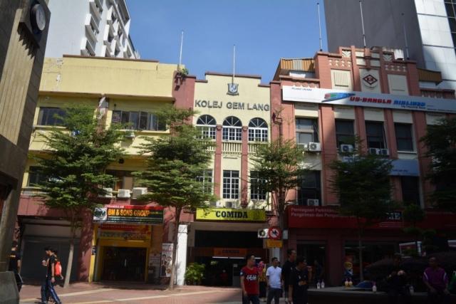 Kuala Lumur, Lebuh Pasar Besar, Backpackjunkies