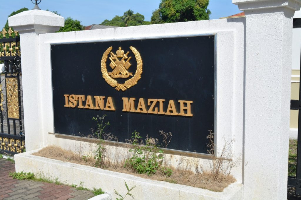Kuala Terengganu, Istana Maziah, Backpackjunkies