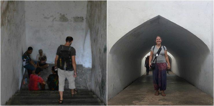 Yogyakarta, Sumur Gumuling, Taman Sari, Backpackjunkies