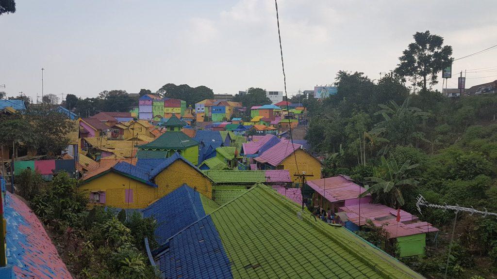 Malang, Kampung Tridi, regenboogwijk, Backpackjunkies