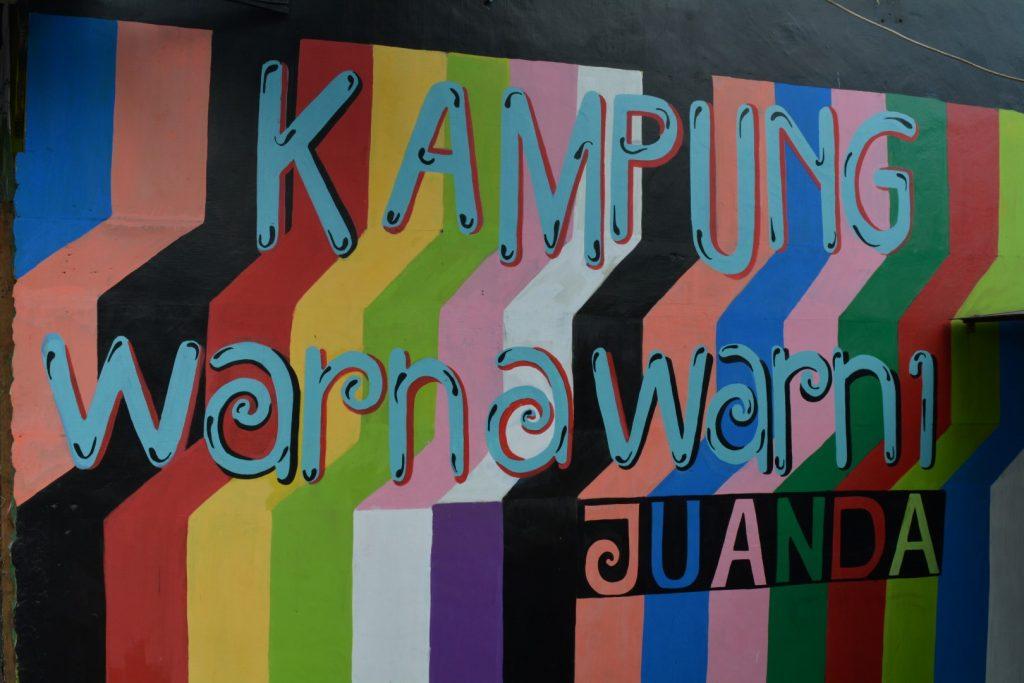 Malang, Kumpung Warna Warni, regenboogwijk, Backpackjunkies