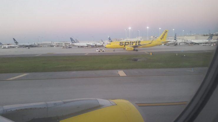 spirit airlines, Backpackjunkies