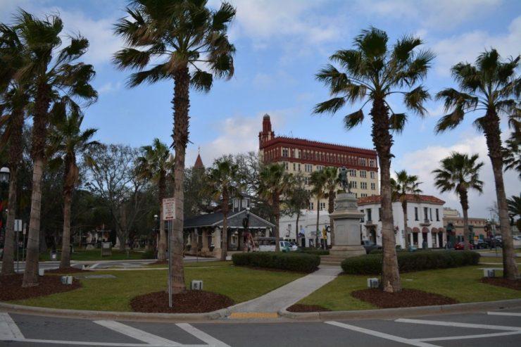 St. Augustine -Plaza de la Constitución - BackPackJunkies