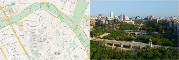 Valencia, Baja Bikes, fietstour, Turia Park, Backpackjunkies