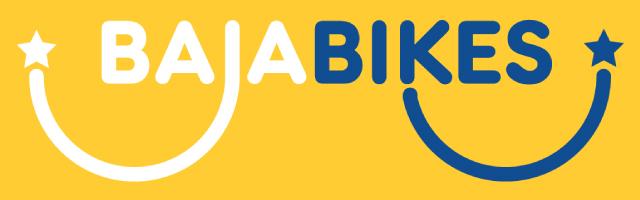 Baja Bikes logo, Backpackjunkies