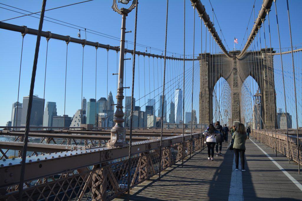 New York, Brooklyn Bridge, Backpackjunkies