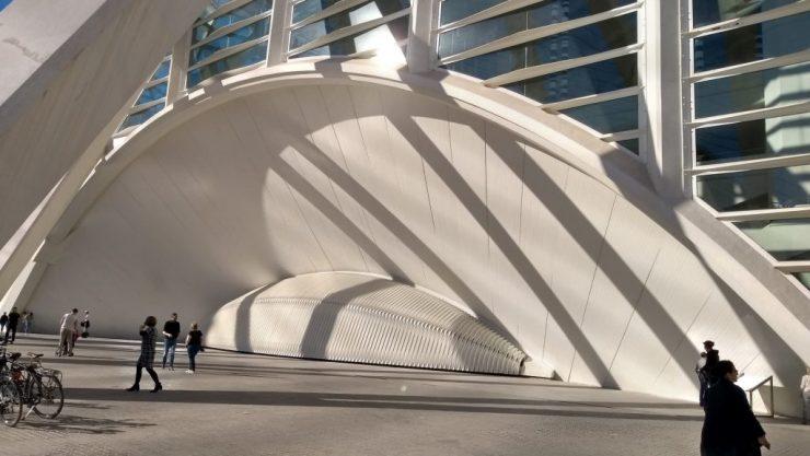 Valencia, Baja Bikes, fietstour, Ciutat de les Arts i les Ciències, Backpackjunkies