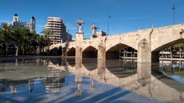 Valencia, Baja Bikes, fietstour, Puente de San José, Backpackjunkies