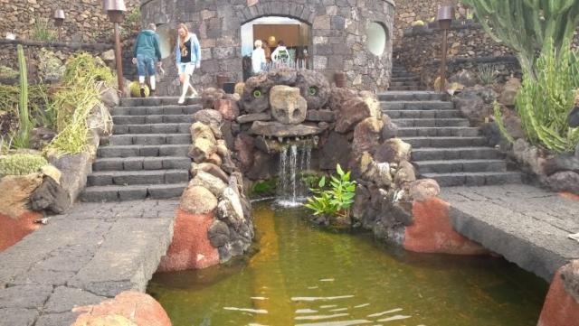 Lanzarote, Jardin de Cactus, backpackjunkies